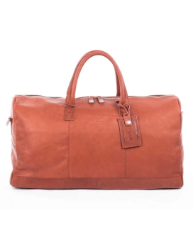 Bugatti Sartoria Duffel Bag Leather Cognac
