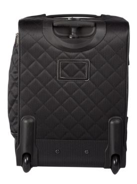 Bugatti Vail Soft Luggage Polyester Carry-On Black SLG10111 Back