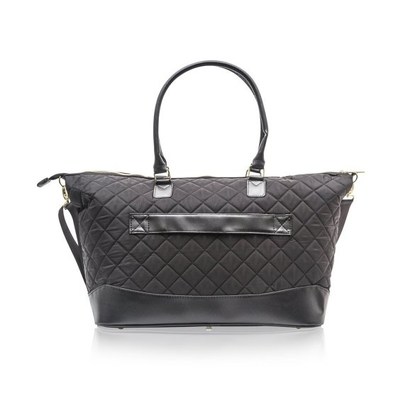 Cosmopolitan Quilted Weekender Bag B0377 COS Black Back