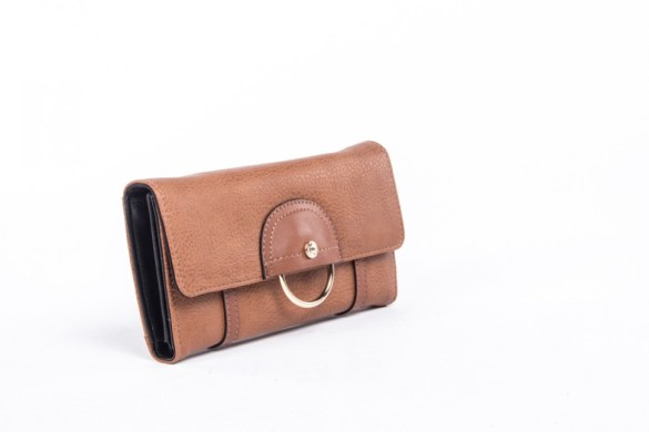 Bugatti Porto Wallet 49696818 Tan Side