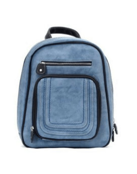 Joanel Barbara Backpack BKP3407 Blue Denim Front 1