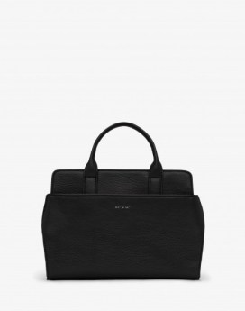 Matt and Nat Gloria SM Satchel Dwell Collection Black Front
