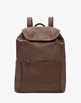 Matt and Nat Greco Backpack Dwell Collection Chestnut Front