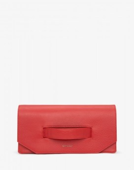 Matt and Nat Abiko Clutch Dwell Collection Ruby Front
