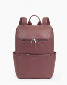 Matt and Nat Brave Backpack Loom Collection Mauve Front