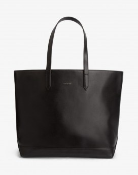 Matt and Nat Schlepp Tote Vintage Collection Black Front