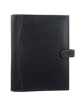 Bugatti Genuine Leather Journal JRN608 Black