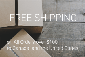 Free shipping to Canada and the US