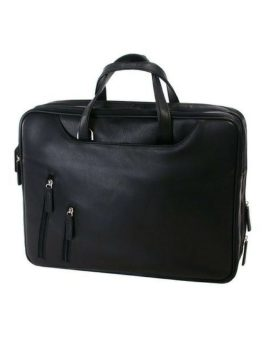 Tech-rite Computer Briefcase 455743 Black Front