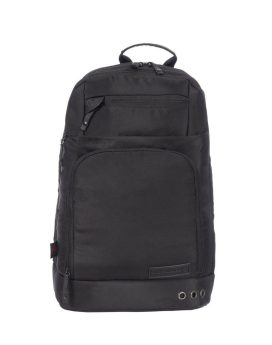 Air Canada Carry-On Business Laptop Backpack A2108 Black Front