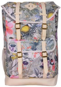 Jetstream Classic Laptop Travel Backpack A2151 Floral Front