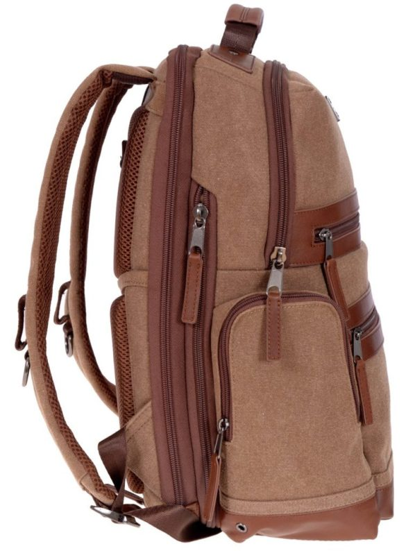 Renwick Business Backpack A2150-Brown Side Right
