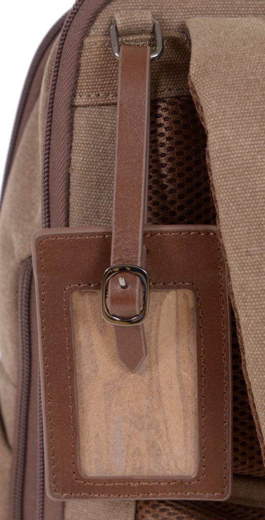 Renwick Business Backpack A2150-Brown Tag