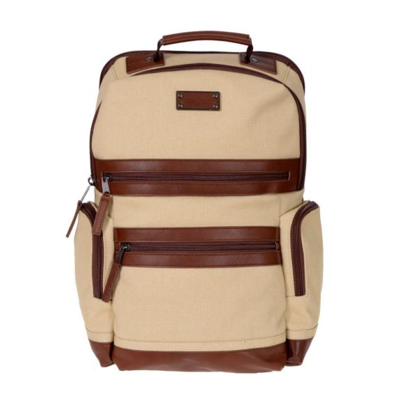 Renwick Business Backpack A2150-Cream Front 1