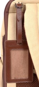 Renwick Business Backpack A2150-Cream tag