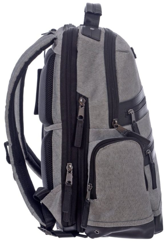 Renwick Business Backpack A2150-RW Grey Side Right