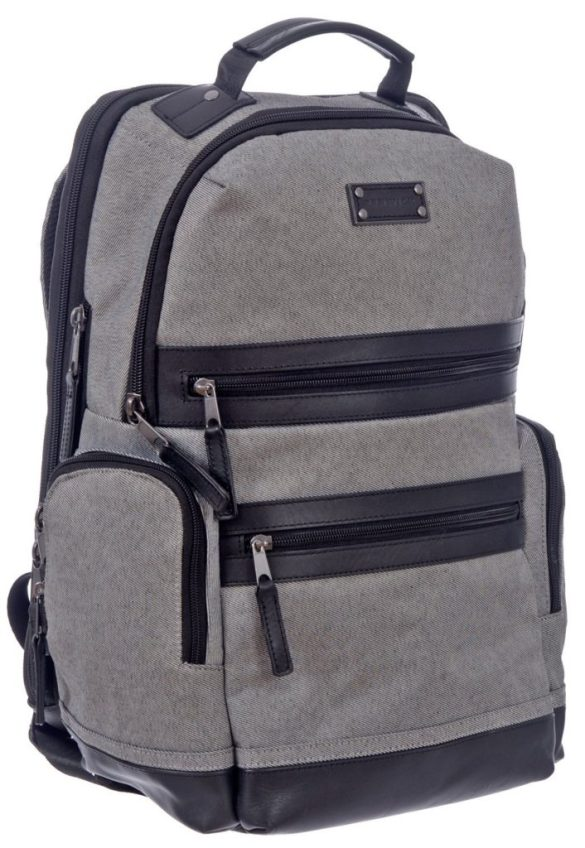 Renwick Business Backpack A2150-RW Grey Side