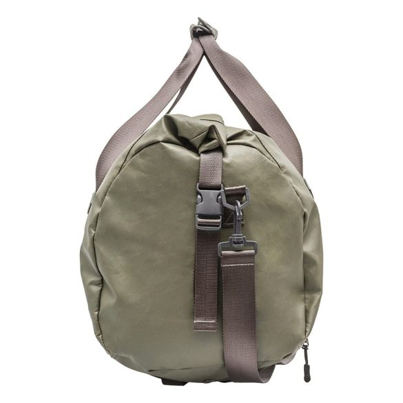 Renwick Travel Roll Top Duffel Bag with Backpack Straps B0380 RW Green Side Straps