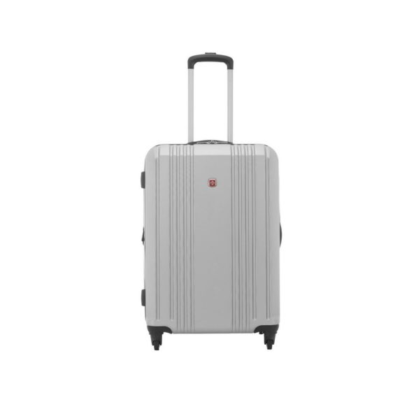 Swiss Gear Cristalina Spinner 24 inch SW34383 Silver Front 2