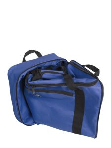 Atlantic 32 inch Expandable Rolling Duffel AL1232P Navy Folded