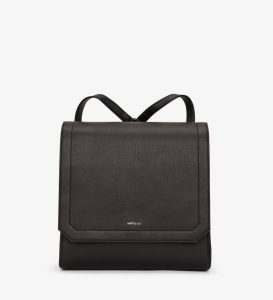 Matt and Nat Mercy Backpack Dwell Collection Black Front