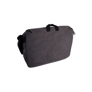 Roots 73 15.6 inch Laptop Canvas Messenger RTS3437W Grey Back