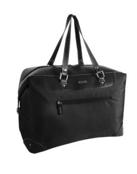 Roots 73 Weekender Duffel Bag R4364N Black Front