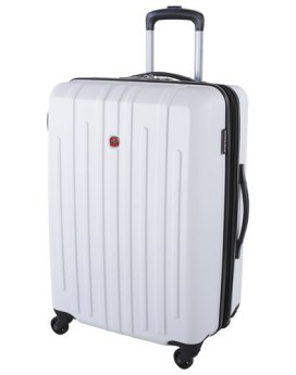 Swiss Gear Blackcomb 24 inch Hardcase Spinner SW10474 White Front
