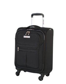 Swiss Gear Mendrisio Collection Carry-On Spinner SW40169 Black Front