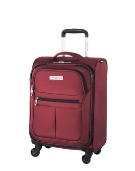 Swiss Gear Mendrisio Collection Carry-On Spinner SW40169 Red Front