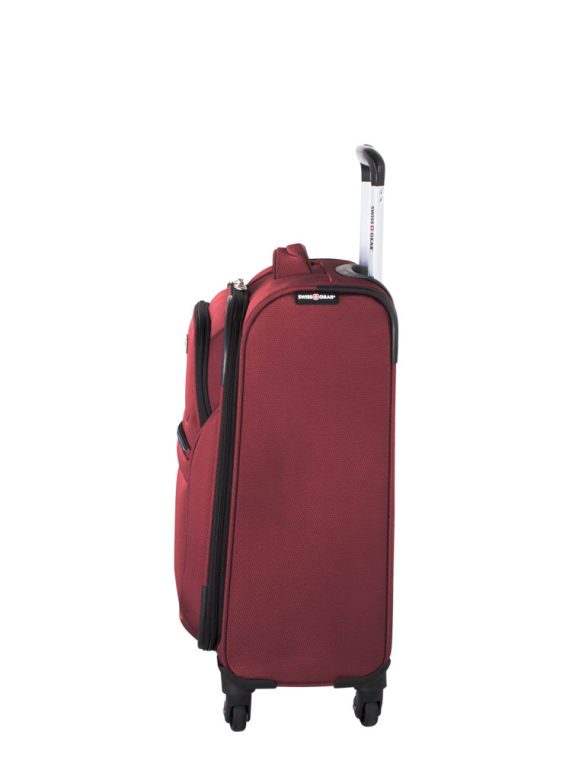 Swiss Gear Mendrisio Collection Carry-On Spinner SW40169 Red Side Left