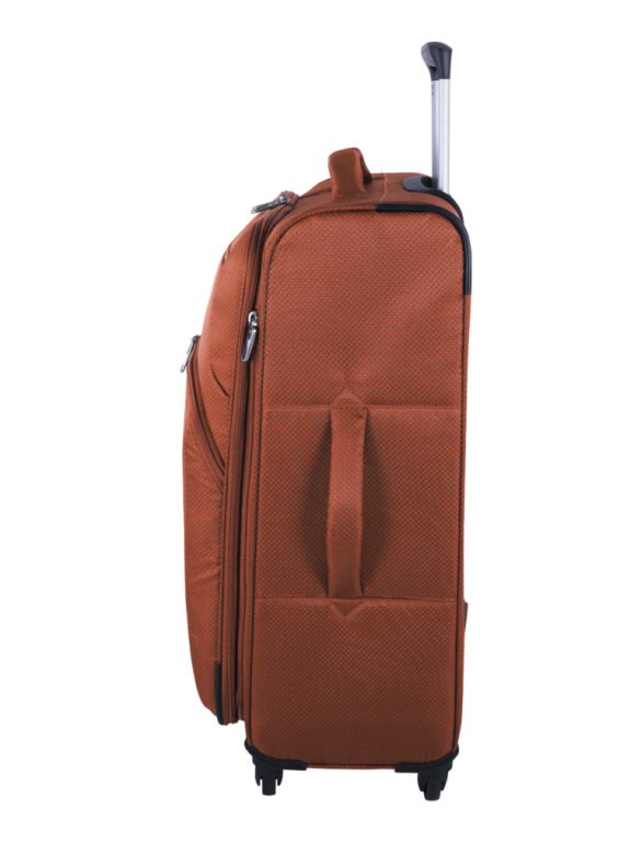 Swiss Gear Super Lite II Collection 24 inch Expandable Spinner SW28574 Burnt Orange Side Left