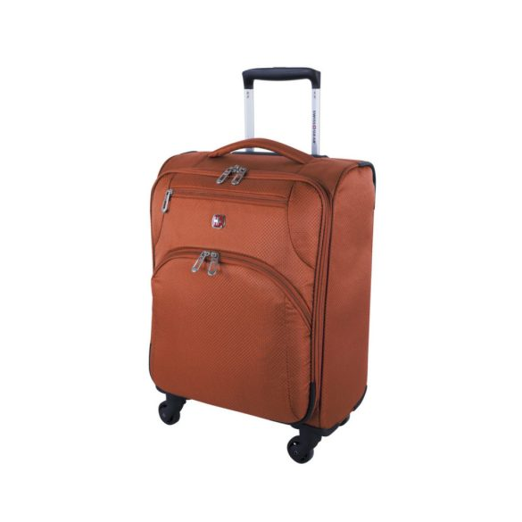 Swiss Gear Super Lite II Collection Carry-On Spinner SW28568 Burnt Orange Front