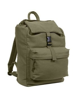 Rothco Canvas Backpack Olive Drab 2169