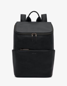 Matt and Nat Brave Backpack Dwell Collection Black Front