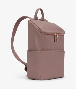 Matt and Nat Brave Backpack Loom Collection Mahogany Side