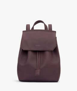 Matt and Nat Mumbai SM Backpack Dwell Collection Fig Front