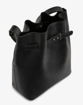 Matt and Nat Lexi Bucket Bag Dwell Collection Black Inside