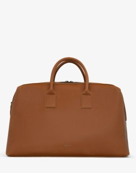 Matt and Nat Andro Weekender Vintage Collection Chili Matte Nickel Front