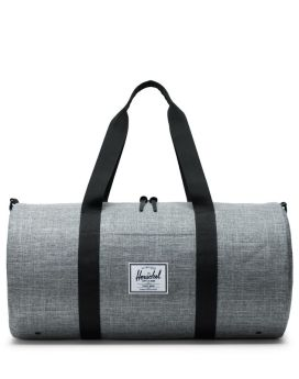 Herschel Sutton Duffle Mid-Volume Raven Crosshatch Black Front