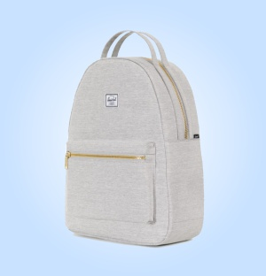 herschel nova backpack light grey crosshatch mid 2