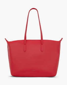Matt and Nat Abbi Tote Loom Collection Pomegranate Front