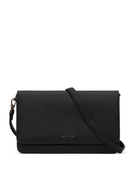 Matt and Nat Bee Crossbody Dwell Collection Black Front
