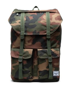 Herschel Supply Co Buckingham Backpack Woodland Camo Front 1