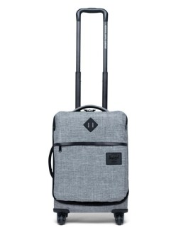 Herschel Supply Co Highland Carry-On Raven Crosshatch Front 2
