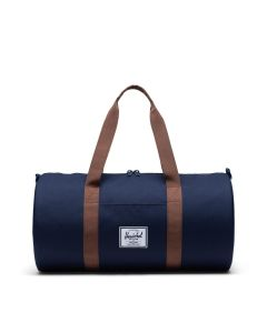 Herschel Supply Co Sutton Duffle Mid-Volume Peacoat Saddle Brown Front