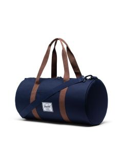 Herschel Supply Co Sutton Duffle Mid-Volume Peacoat Saddle Brown Side