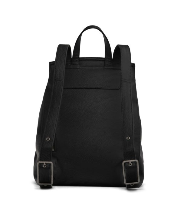 Matt and Nat Mumbai Backpack Dwell Collection Black Back