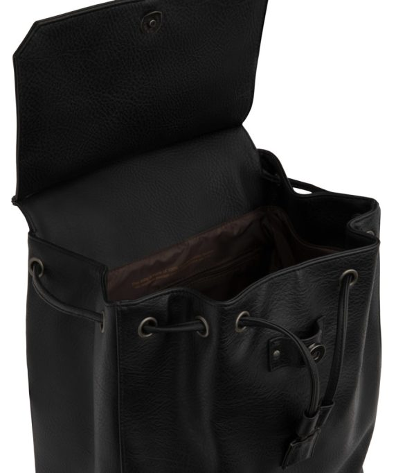 Matt and Nat Mumbai Backpack Dwell Collection Black Inside