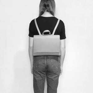 Pixie Mood Janice Small Backpack Apricot Model Back